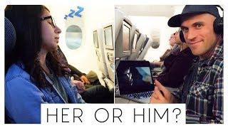WHO DO YOU TRAVEL LIKE?! Long Haul Flight w/ British Airways