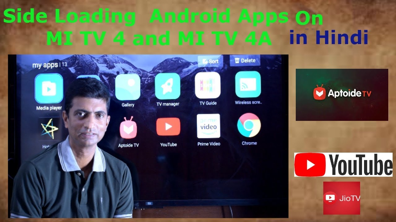How to Side Load Apps on Xiaomi Mi TV 4 and Mi TV 4A in Hindi