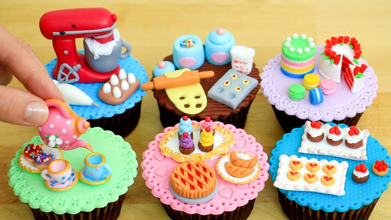 Miniature Dessert Cupcakes! Realistic Hacks And Crafts Mini Food