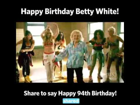 Happy 94th Birthday Betty White - YouTube