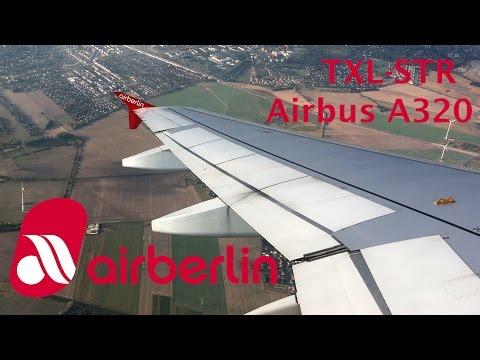 Air Berlin A320 flight Berlin - Stuttgart trip report