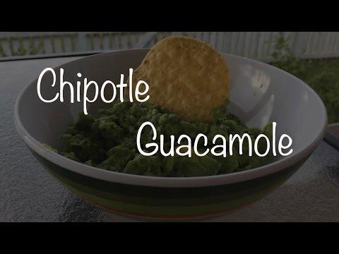Homemade Chipotle Guacamole
