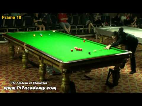 Frame 10 of 2014 European Masters Snooker Final
