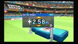 Mario and Sonic at the Olympic Games Athletics: High Jump