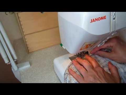 Простынь на резинке Как сделать за 3 минуты