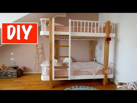 Teil 2. Stockbett für Kinder selber bauen - Schritt für Schritt
