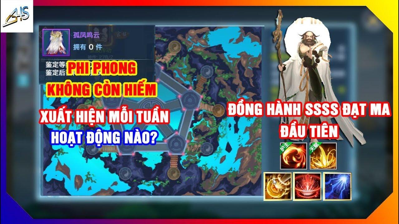 VLTK Mobile – Phi Phong sẽ xuất hiện ở hoạt động nào?- Pet SSSS Đạt Ma đầu tiên tại Trung Quốc