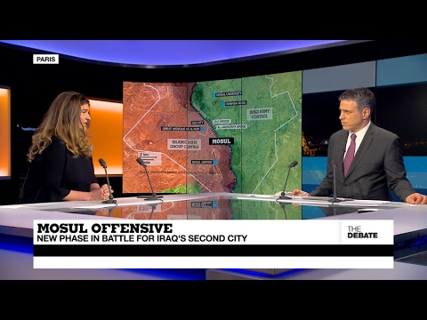 Mosul offensive: New phase in battle for Iraq's second city (part 1)