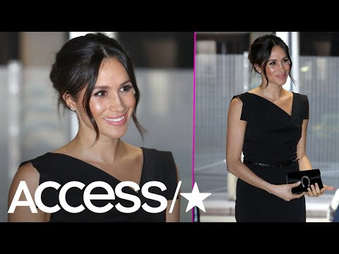 Meghan Markle Wows In Edgy & Elegant 'Jackie O' Dress At Women's Empowerment Event | Access