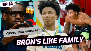 """I Had To Invite Bron!"" Mikey Williams Battles MEAN Los Angeles Team! Gets Surprise Text From LEBRON"