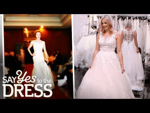 Wedding Dress Model Can't Decide on a Dress | Say Yes To The Dress UK. http://bit.ly/2JHxj9e