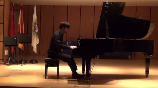 Prokofiev Sonata Op. 1 nº 1 Pablo Cabezas