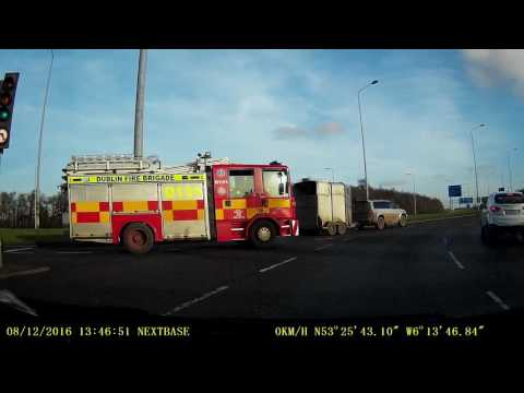 Dublin airport roundabout - Dashcam
