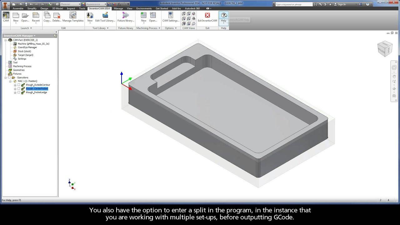 Autodesk Inventor G Code - Autocad