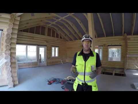 Рассказ о нашем способе заливки бетона Строительство дома в Финляндии 8 серия