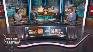 Lee Corso,  Kirk Herbstreit predict Clemson Tigers to make CFP championship | College GameDay | ESPN