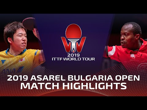 Jun Mizutani vs Quadri Aruna | 2019 ITTF Bulgaria Open Highlights (1/4)
