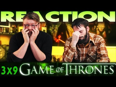 """Game of Thrones 3x9 REACTION!! """"The Rains of Castamere"""""""