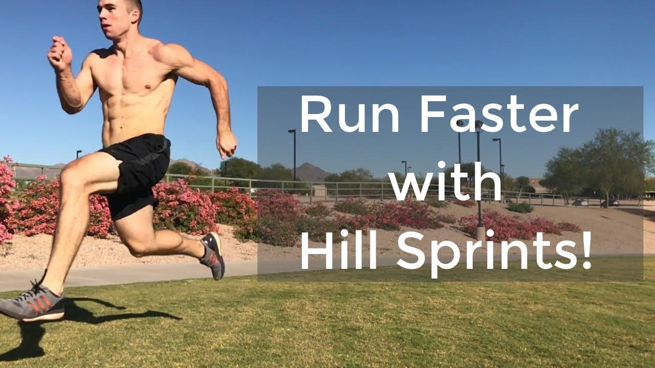 hill sprints arde grăsime rapid