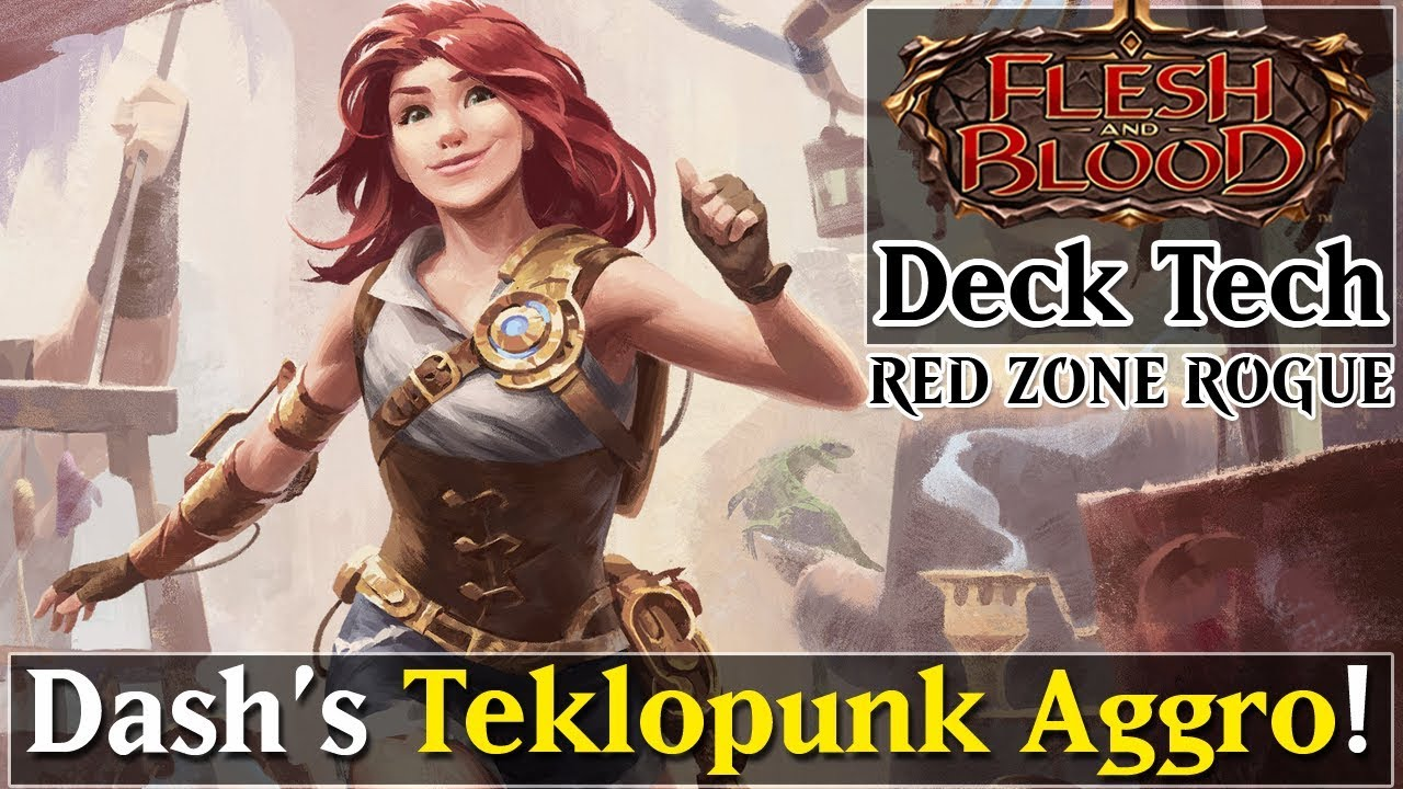 Download Dash / Mechanologist Deck Profile [TEKLOPUNK AGGRO] ► Flesh and Blood TCG Deck Tech