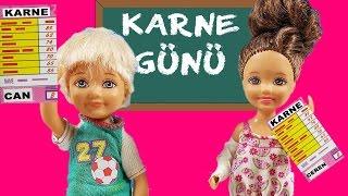 Barbie Ailesi 93.Bölüm - Karne Günü | Çizgi Film tadında | Barbie Türkçe izle | EvcilikTV