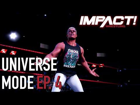WWE 2K Universe Mode - Ep. 4 - IMPACT!