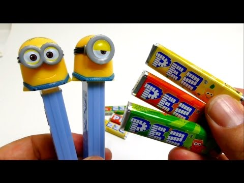 PEZ Candy Dispenser Minions Summer 2015
