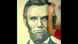 #3 Abraham Lincoln Time-lapse Drawing