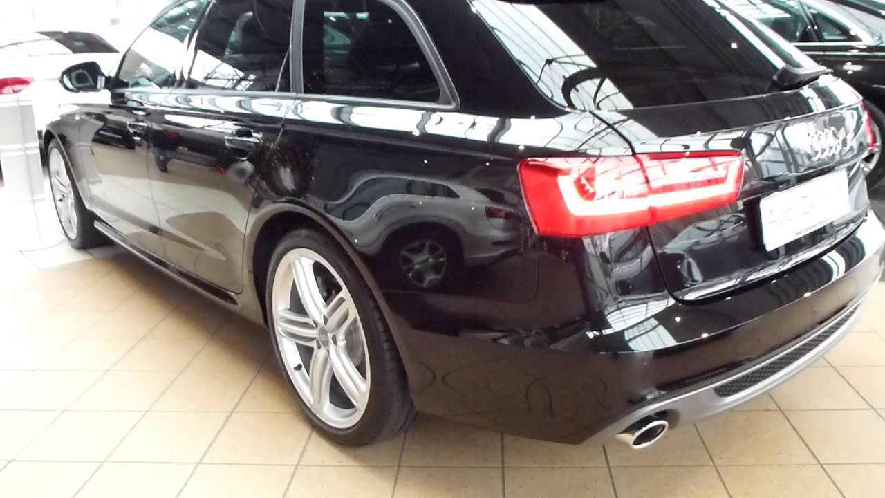 2014 audi a6 avant 3 0 tdi 39 39 s line 39 39 exterior interior. Black Bedroom Furniture Sets. Home Design Ideas