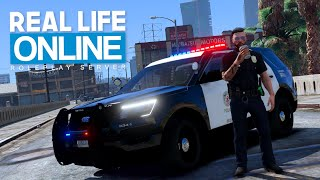TAG & NACHT beim LAPD! - Real Life Online