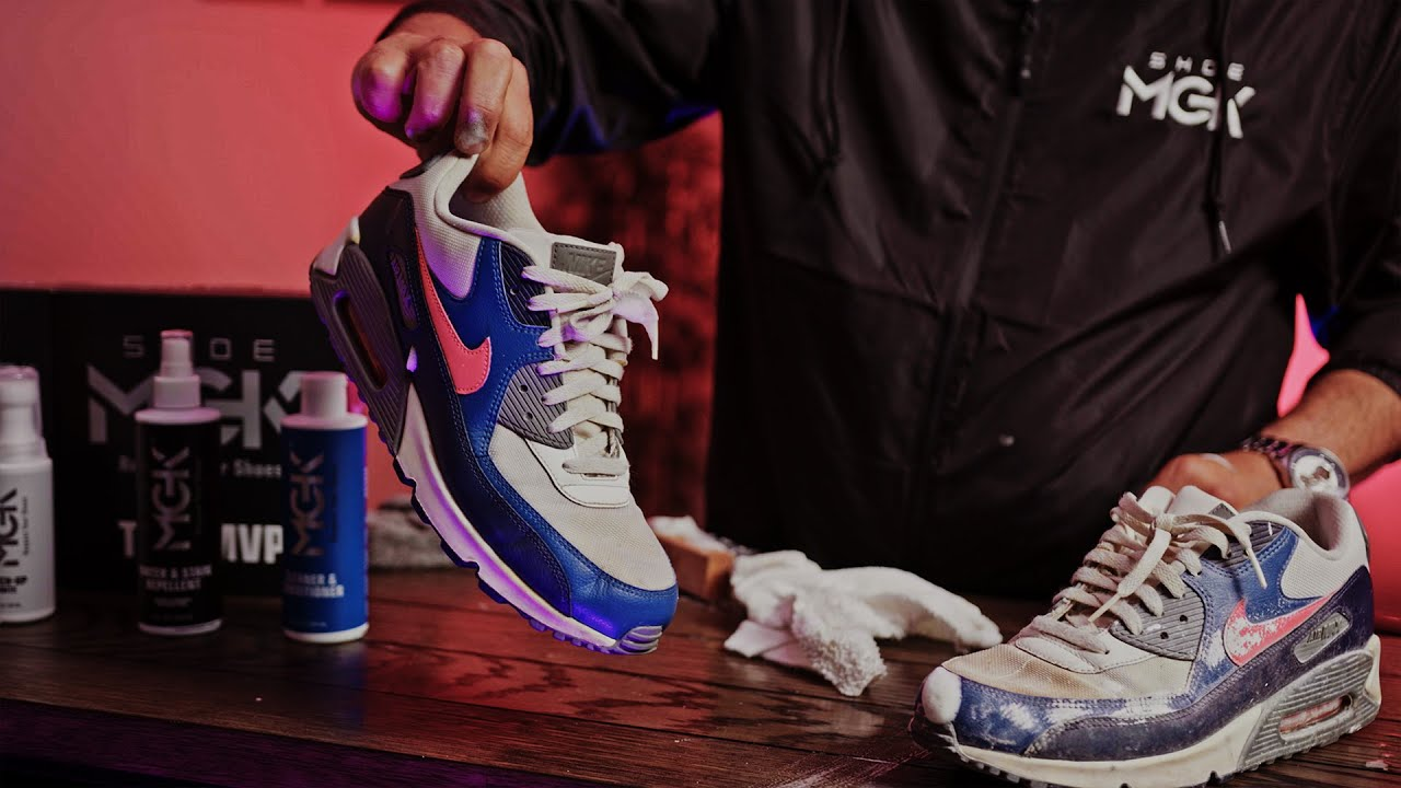 Cleaning Shoes With Shoecare Specialist Mike Black