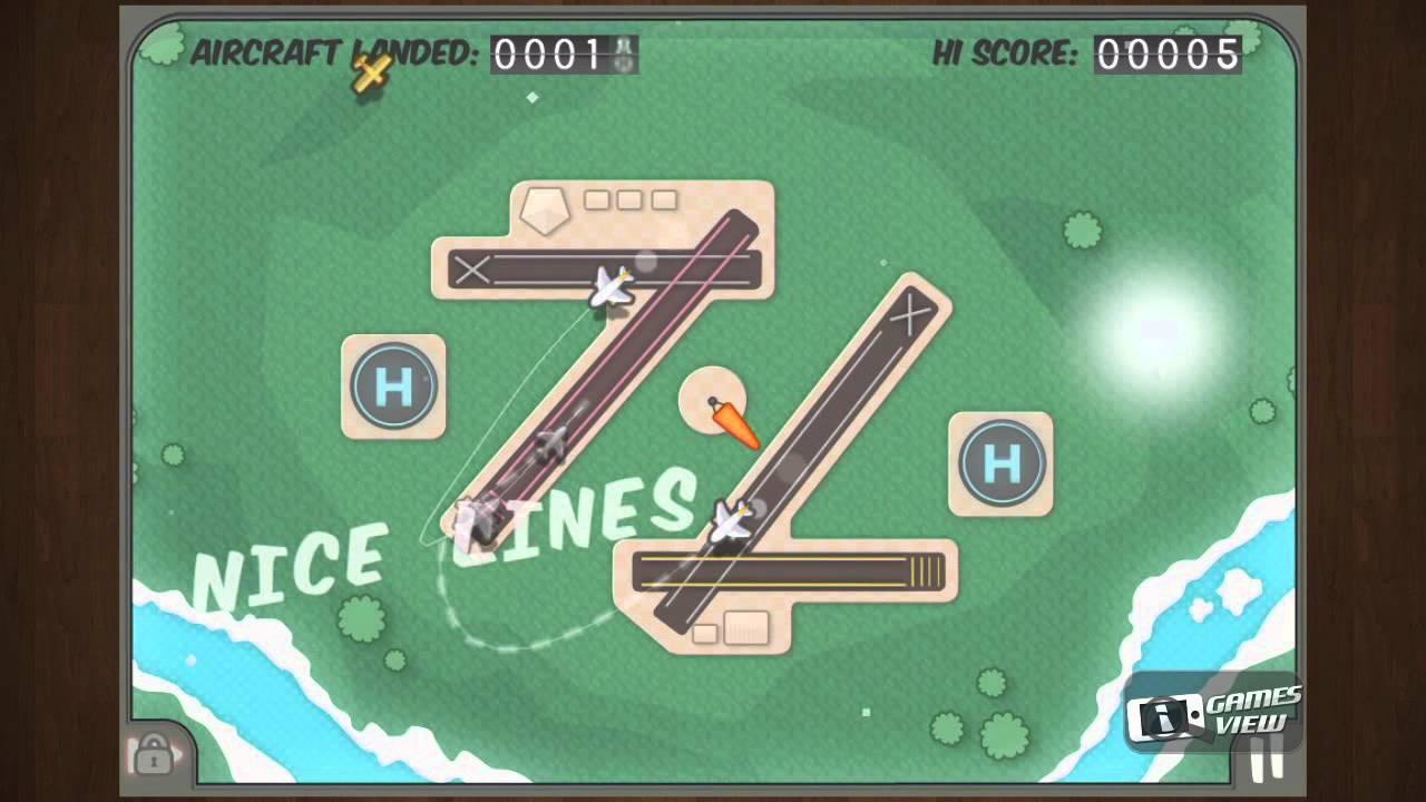 Flight control game