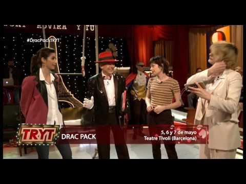 Drac Pack con (Alba Flores, Nawja Nimri y Ana Castillo) en Toni rovira y Tu