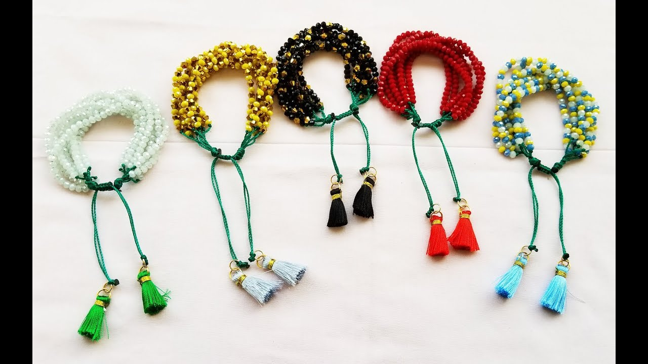 feb370bd7386 UNISEMARY BRACELETS / WEEKLY BRACELETS VERY EASY TO MAKE TO LEARN IN EASY  STEPS