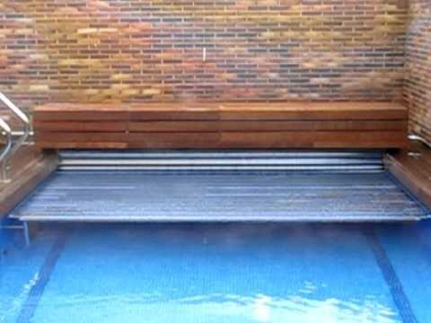 Cubierta termica de lamas de policarbonato solar manta for Manta solar piscina