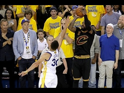 Kyrie Irving Drains the Clutch Three in Game 7 of the 2016 NBA Finals - YouTube