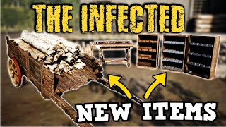 NEW ITEMS For The Base!   The Infected Ep7   Open World Base Building \u0026 Crafting Survival Gameplay