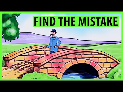 Can you find the mistake in the picture | spot the mistake | TA Buzz