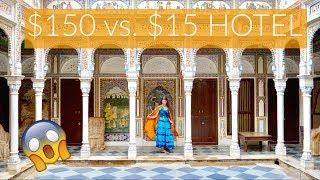Video INDIA $15 Hotel vs. $150 Hotel! download MP3, 3GP, MP4, WEBM, AVI, FLV September 2018