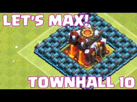 Clash Of Clans LET'S MAX TOWNHALL 10 | All Balloon Attack Strategy | Epic Loot Raids!