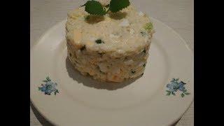 #Салат с рисом / #Рецепт салата с рисом и яйцом#Что приготовить на обед, ужин