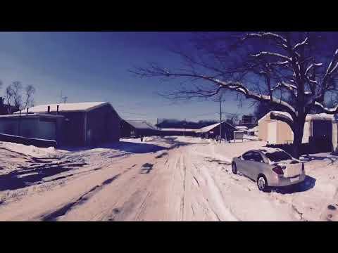 I & M Canal Trail snowmobiling 2/2018