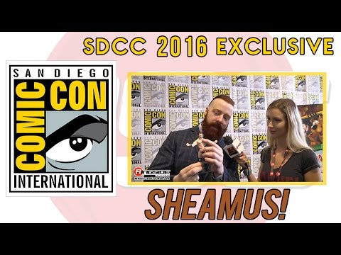 SHEAMUS - WWE Superstar Interview at San Diego Comic Con (SDCC) 2016!