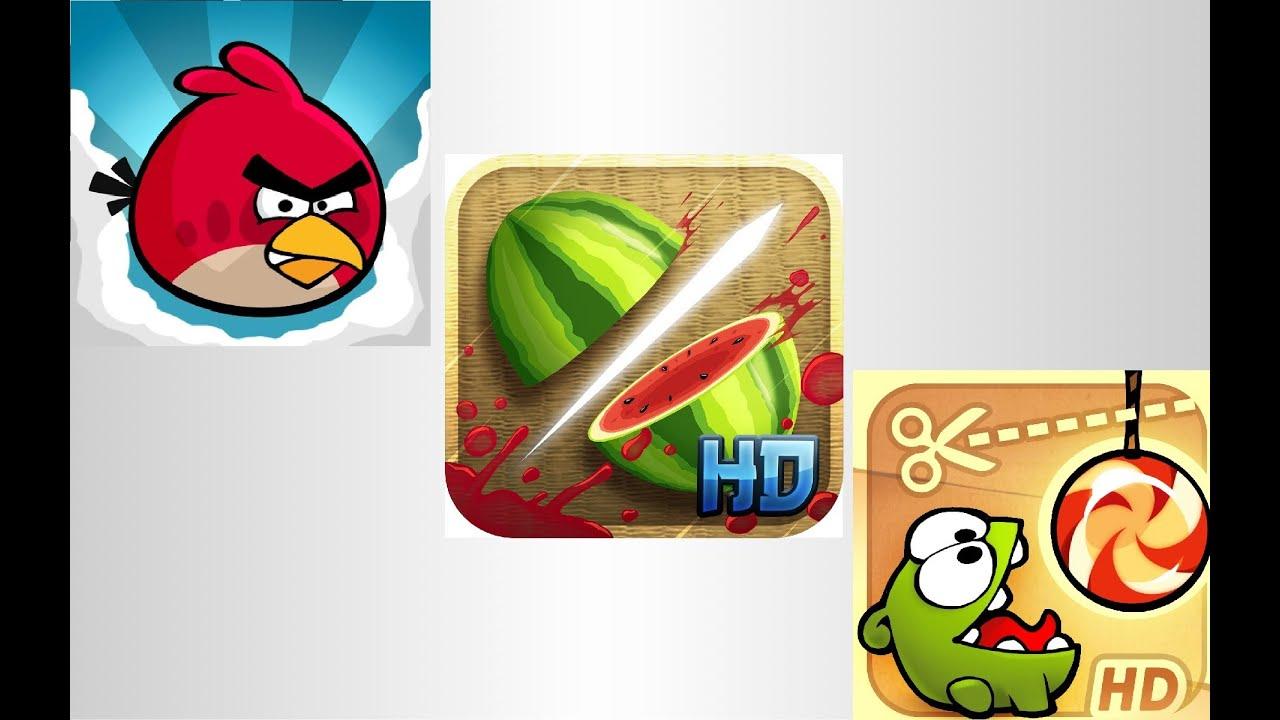 Fruit ninja cut -  Fruit Ninja Angry Birds Cut The Rope