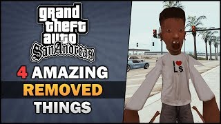 GTA SA - 4 Amazing Cut Things 💣[Beta Analysis] - Feat. MrMario2011