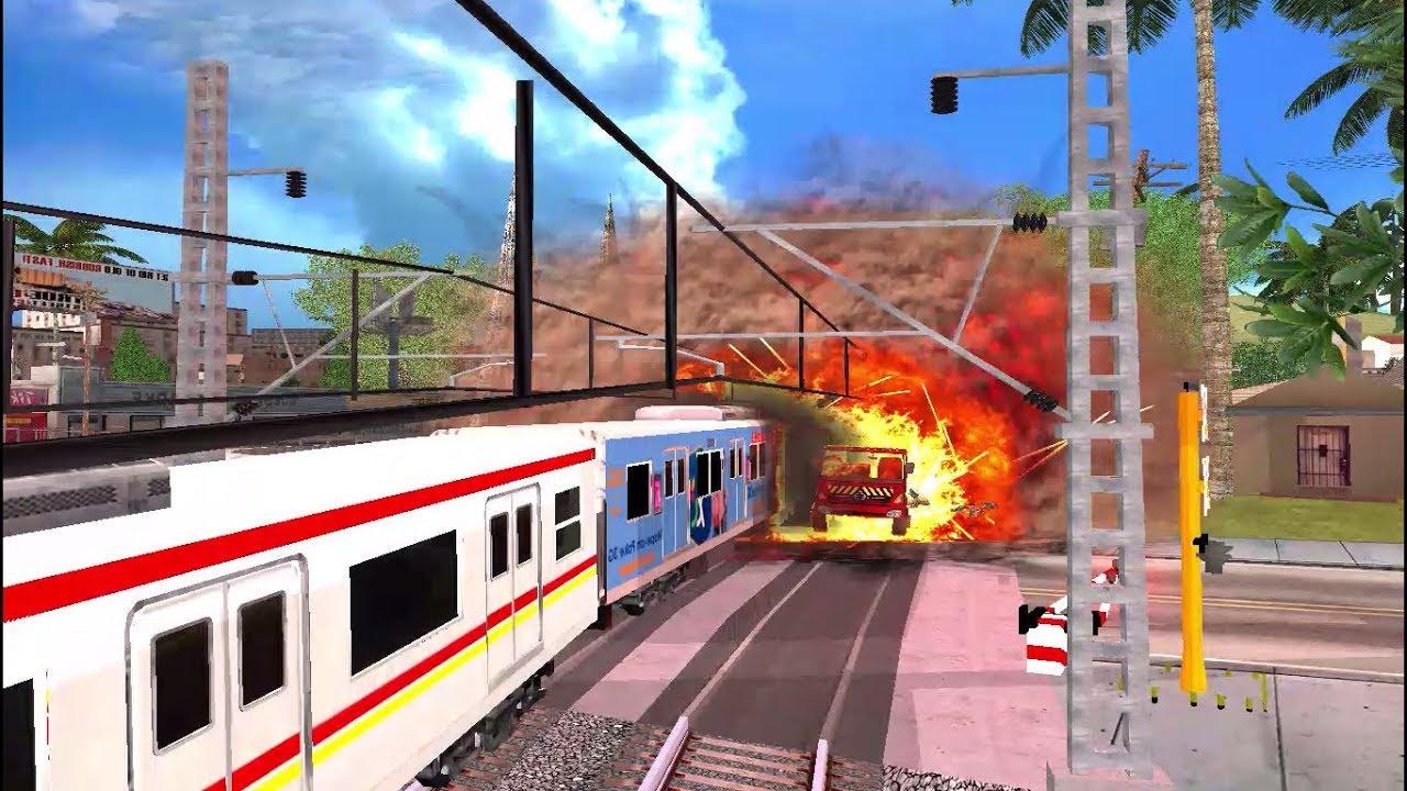 Insiden Tragedi Bintaro 2 - Tabrakan KRL VS Truk Pertamina