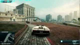 NFS Most Wanted Speed Pack DLC Cars (Full HD) 2012