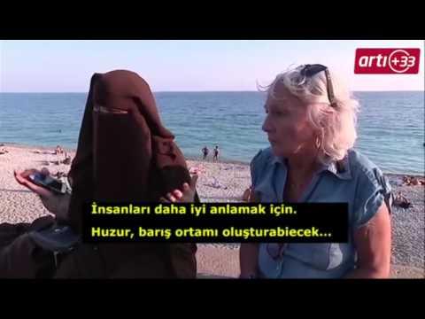 Fransa bu görüntüleri konuşuyor: Çarşaflı kadına tepki bakın nasıl sonuçlandı