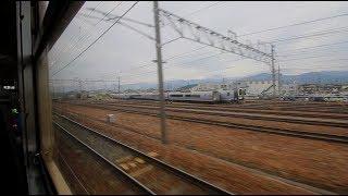 しなの鉄道 北しなの線 長野~北長野 車窓風景 Shinano Railway Kita-Shinano Line Nagano to Kia-Nagano (2018.4)