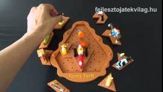 Popular Playthings játékszabály, Funny Farm, egyszemélyes logikai játék gyerekeknek, 8-99 év